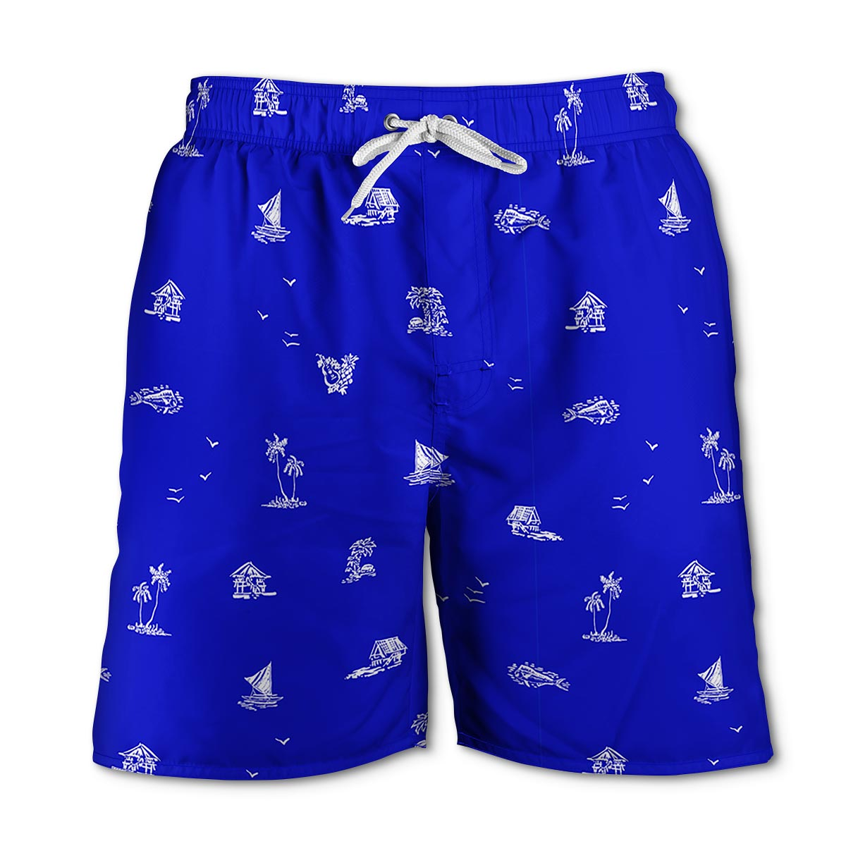 Newport Blue - Swim Shorts | South Beach - Royal