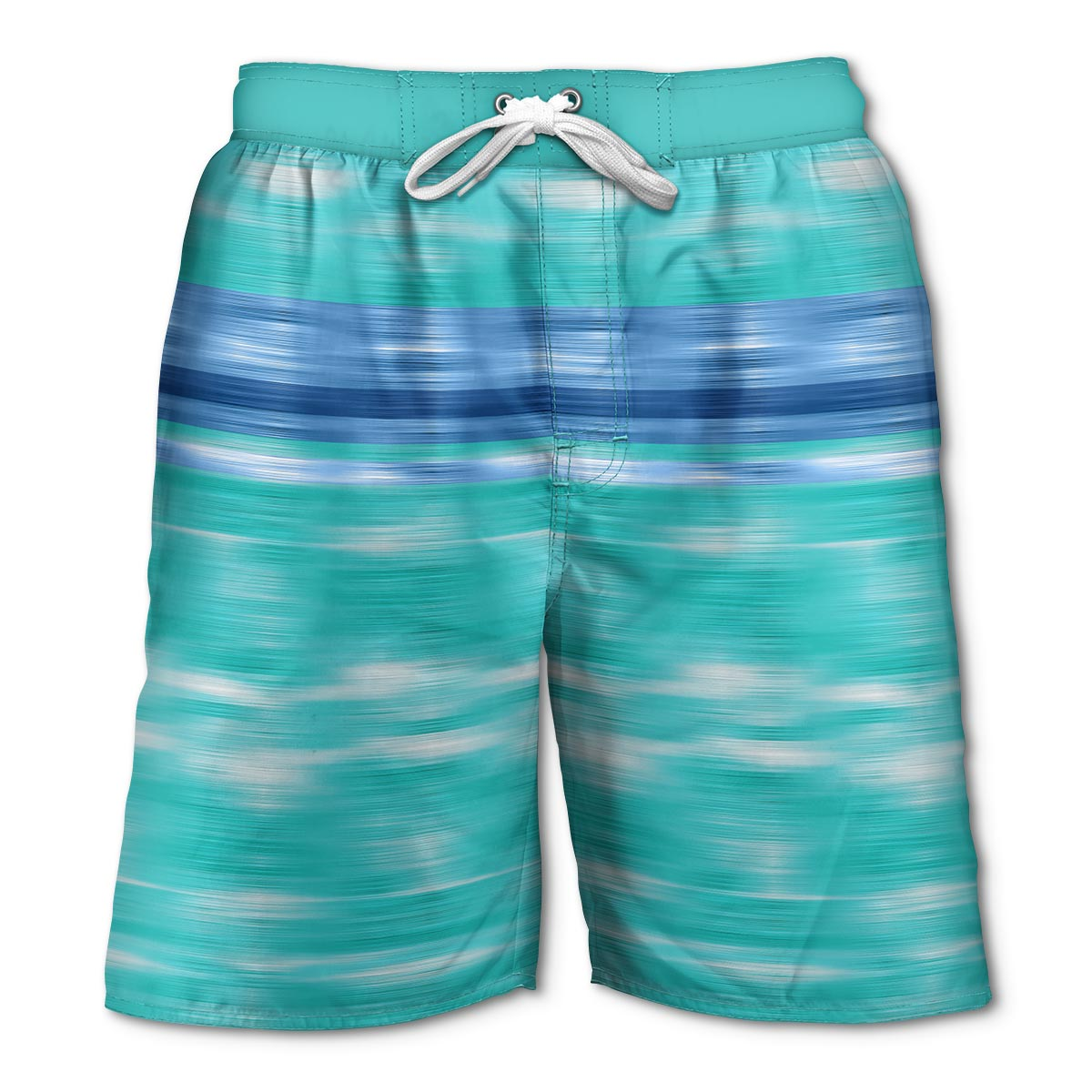 Newport Blue - Swim Shorts | Rip Tide - Seagreen