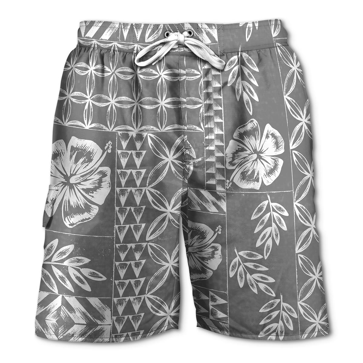 Newport Blue - Swim Shorts | Tapa - Grey