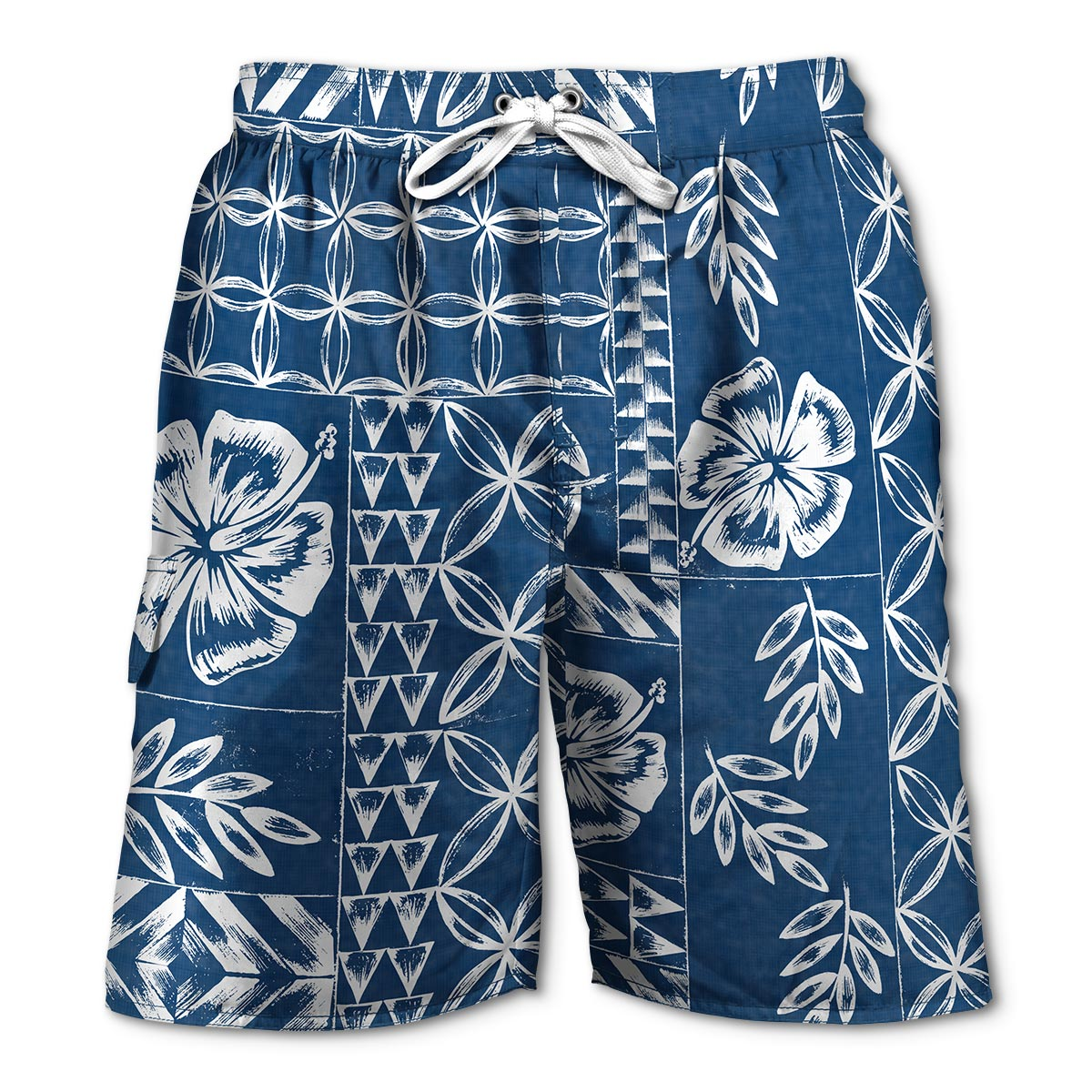 Newport Blue - Swim Shorts | Tapa - Blue