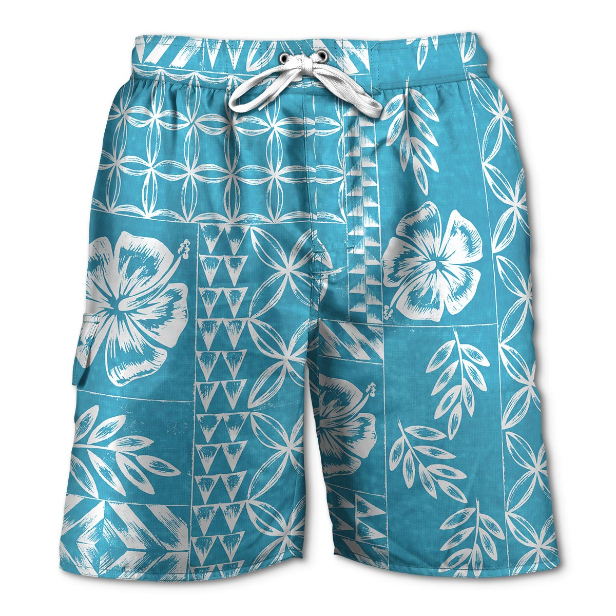Newport Blue - Swim Shorts | Tapa - Bright Blue